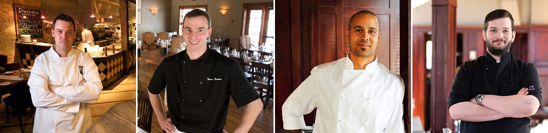 Four Chefs' Dinner - CRMR - The Lake House - Calgary