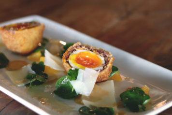 The Lake House - Calgary - Restaurant - Scotch Egg - Easter Dinner