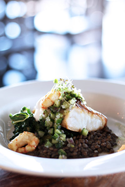 The Lake House - Calgary - Restaurant - Cod - Easter Dinner